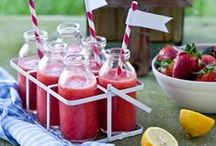 Thirst Quenchers / Various drink recipes that we like