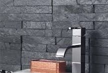 Stack Stone / How to incorporate stack stone tiles into your home