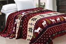 Winter Holiday Season & Christmas Bedding, Blanket, Throws / Winter Holidays are around the corner check out some of these great Christmas, winter holiday season bedding, blankets, throws, covers, and more!