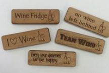 Alder Wood Designs / These designs are all created from scratch from a piece of alder wood. We can personalize our designs or completely customize a new design.