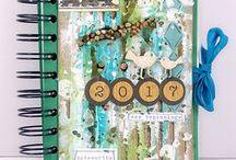 My Mini Albums / Mini books of all kinds cretead by Sanna Lippert