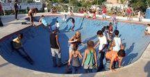 Praça Sou da Paz / Equipamento de integração: urbanismo + skate + cidadania. Planejada com o objetivo de promover diversas formas de convivência, esporte, estar, passagem ou apenas para descansar à sombra de uma árvore.