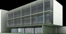 Edifício Sede Fercom / Edificado em lote compacto, esse centro administrativo de uma pequena indústria integra as suas diversas áreas administrativas em 3 pavimentos amplos e muito iluminados.