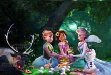 Frozen and tangled / Cusins