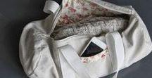 couture accessoires / modèles d'accessoires à coudre: sacs, trousses, chapeaux,