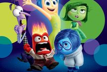 Inside out / Joy, sadness, fear, angry and disgust