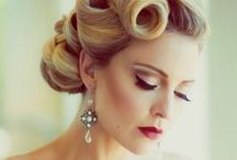 1940's Styles / Fashion/hair/makeup for a 1940's look