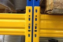 Esmena Pallet Racking / Esmena Pallet racking has a bolted end frame and the beam is secured with a unique design of sprung clip.
