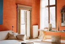 Burnt Orange Home Decor / Burnt Orange has been a top color of home decor, 5 years running. It is a perfect color that gives an earthy feel and give you a season off, of decorating during the fall season. Burnt orange goes great with shades of brown and tan, and perfect for wood grain color furniture.