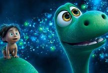 The good dinosaur / Arlo and Spot best friends