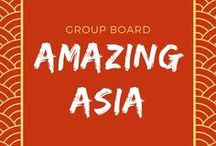 Amazing Asia / The best Asia destination guides and travel tips. Send me a message if you're interested in contributing!  Board guidelines:  1) Vertical rich pins only. Non-vertical pins will be deleted; 2) Asia-specific content only please, no infographic pins, no pins that link to your main landing page; 3) No daily limits but avoid spamming please! 4) For every pin you add, please re-pin at least one from this board to your own boards.