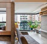 Apartamento Studio Batataes / Um pequeno apartamento para o descanso e a contemplação. Um apartamento studio recém entregue transformado para atribuir amplitude em um pequeno espaço, sem aperto no modo de vida contemporâneo de seu jovem proprietário.