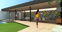 Pavilhão City Lapa / ODVO + mínima | Pavilhão onde tudo acontece. Construção que substitui uma antiga edícula a fim de abrigar todas as reuniões de família e receber amigos. Integrada a tudo, organiza a ocupação do lote e transforma o antigo fundo em frente.