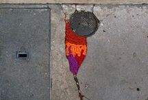 Street art / This is a board to show that street art is so much more than graffiti!