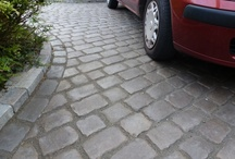 Marshalls Cobbletech Driveway - Southport / Marshalls Cobbletech Driveway in Southport, Iron Grey colour by Abel Landscaping  http://www.abellandscaping.co.uk/national/cobbletech/southport-installations