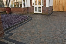 Marshalls Cobbletech Driveway - St Helens / Marshalls Cobbletech Driveway in St Helens, Canvas and Iron Grey Colour, By Abel Landscaping.  http://www.abellandscaping.co.uk/national/cobbletech/st-helens-installations
