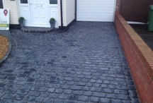 Marshalls Cobbletech Driveway - Hunts Cross / Marshalls Cobbletech Driveway in Hunts Cross, Liverpool. Basalt Colour by Abel Landscaping