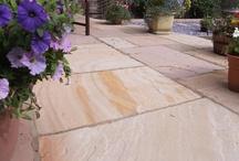 Natural Indian Sandstone Paving / Natural Indian Sandstone Paving Installations by Abel Landscaping  http://www.abellandscaping.co.uk/national/indian-sandstone-paving
