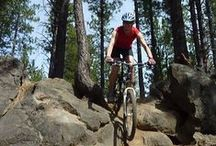 Biking in Bend / Whether you find your two-wheel nirvana on dirt, gravel, snow or the road, there is no shortage of awesome biking in Bend, Oregon.