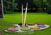 Garden / To plant a garden is to believe in tomorrow. - Audrey Hepburn