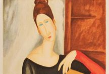 Modigliani / Amedeo Modigliani was an Italian painter and sculptor who worked mainly in France. 1884 - 1920