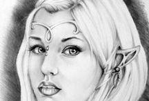 My drawings / Collection of my drawings -- Facebook: www.facebook.com/selinadrawings