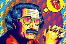 Trippy - Psychedelic illustrations / trippy & psychedelic inspiration - keuj.net/ Freelance illustrator