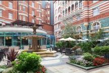 St. James' Court Courtyard / St. James' Courtyard is one of London's hidden gems and the perfect place for an al fresco drink or meal.