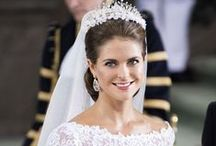 Bridal Inspiration / Hair and Makeup inspiration for the bride and bridal party