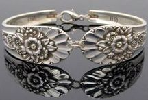 Silver Bracelets / Contemporary and modern designs of silver bracelets