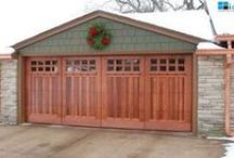 Garage Doors / Beautiful Doors, curb appeal means everything.  Take a look at some ideas for your garage.