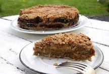 Ciasta z owocami / Przepisy na ciasta z owocami z bloga http://zdrowa-kuchnia-sowy.blogspot.com/
