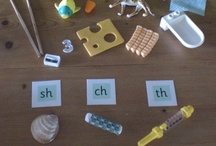 Home-made Phonics Activities / Some ideas for making simple phonics games.