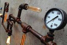Steampunk & industrial ideas