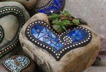 Mozaics & ceramics ideas