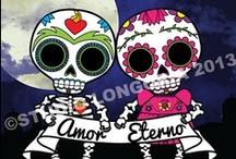 Dia De Los Muertos / Calaveras, Calacas, Cuteness