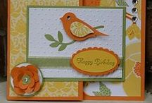 Cards - Bird punch stampin up ideas / Stampin up bird punch ideas