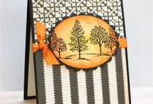 Cards - Trees / Cards with tree ideas - BUT If you do not  have Stampin ups Lovely as a Tree stamp set, get it...................... this is a stamp set that should be in every crafty person's home.... so versatile