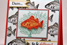 Cards - By the tide - Stampin Up / Stampin up stamp set ideas