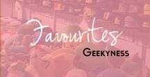 Geekyness / A collection of awesome geeky and nerd things that I've found on the web.