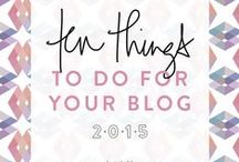 Blogging: Tips / Tips for bloggers