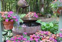 Backyard Retreats / Creating backyard retreats for relaxing and living in