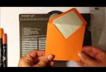 Cards - Envelope punch board / Ideas and uses for the envelope punch board