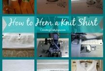 Sewing: Tips & Tricks / Tips & Tricks for sewing and great sewing projects to try