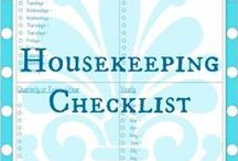 Organize my Home / Great ideas for organizing the home and housekeeping tips