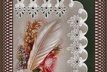 Cards - Pergamano / vellum / all pergamona, vellum and tracing paper ideas