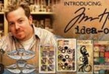 Cards - Tim Holtz /  Tim Holtz the Creative Director for Ranger Industries, one of the leading manufacturers of innovative inks, paints and embossing products. Tim plays an integral part in the development and design of cutting edge paper crafting products. He has teamed up with various key companies to bring unique products that work hand in hand with Ranger's extensive lines. Pre-cuts are color and design coordinated. Use for quilts, wall hangings and other projects