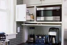 Small kitchen / Ideas for Small Kitchens. When small means 4-6 sq.meters.
