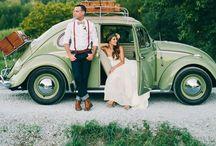 Wedding Ride / Des Carioles de mariés