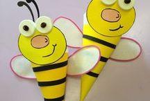 Včielky pre prácu s deťmi